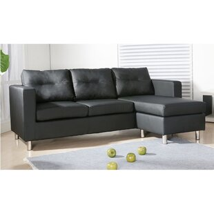 Windell Reversible Sectional by Ebern Designs Read Reviews
