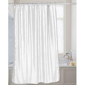Highgate Faux Silk Shower Curtain