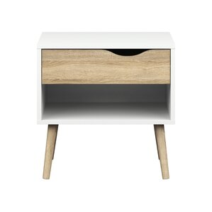 zephyr 1 drawer nightstand