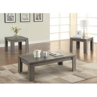 Highland Dunes Gibbon 3 Piece Coffee Table Set