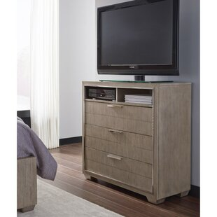 Brayden Studio Lorenz 3 Drawer Media Chest