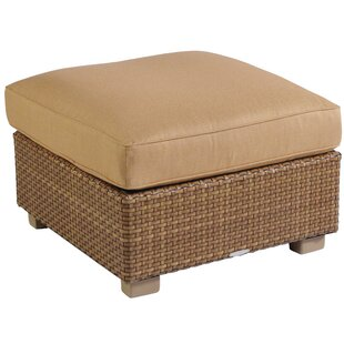Sedona Ottoman with Cushion by Woodard
