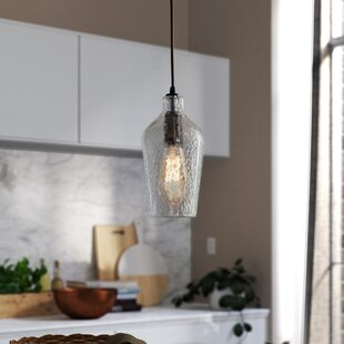 Birch Lane? Heritage Woodrow 1-Light LED Bell Pendant