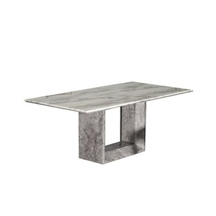 Orren Ellis Culley Marble Dining Table