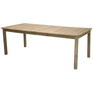 Baek Teak Dining Table By Sol 72 Outdoor