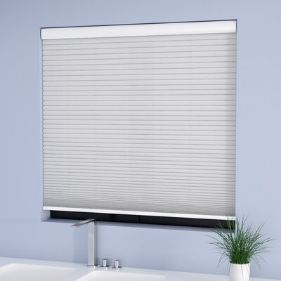 Symple Stuff Cordless Semi-Sheer Cellular Shade