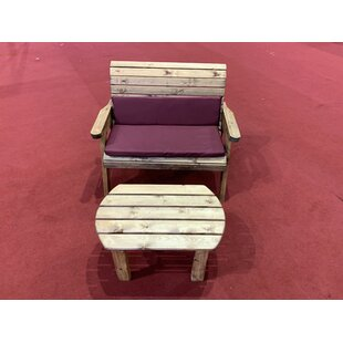 Farrar Wooden Bench By Union Rustic