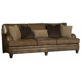 Shop Tarleton Leather Sofa by Bernhardt