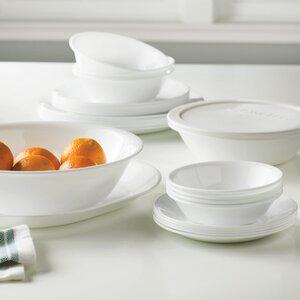 Livingware 74 Piece Dinnerware Set, Service for 12