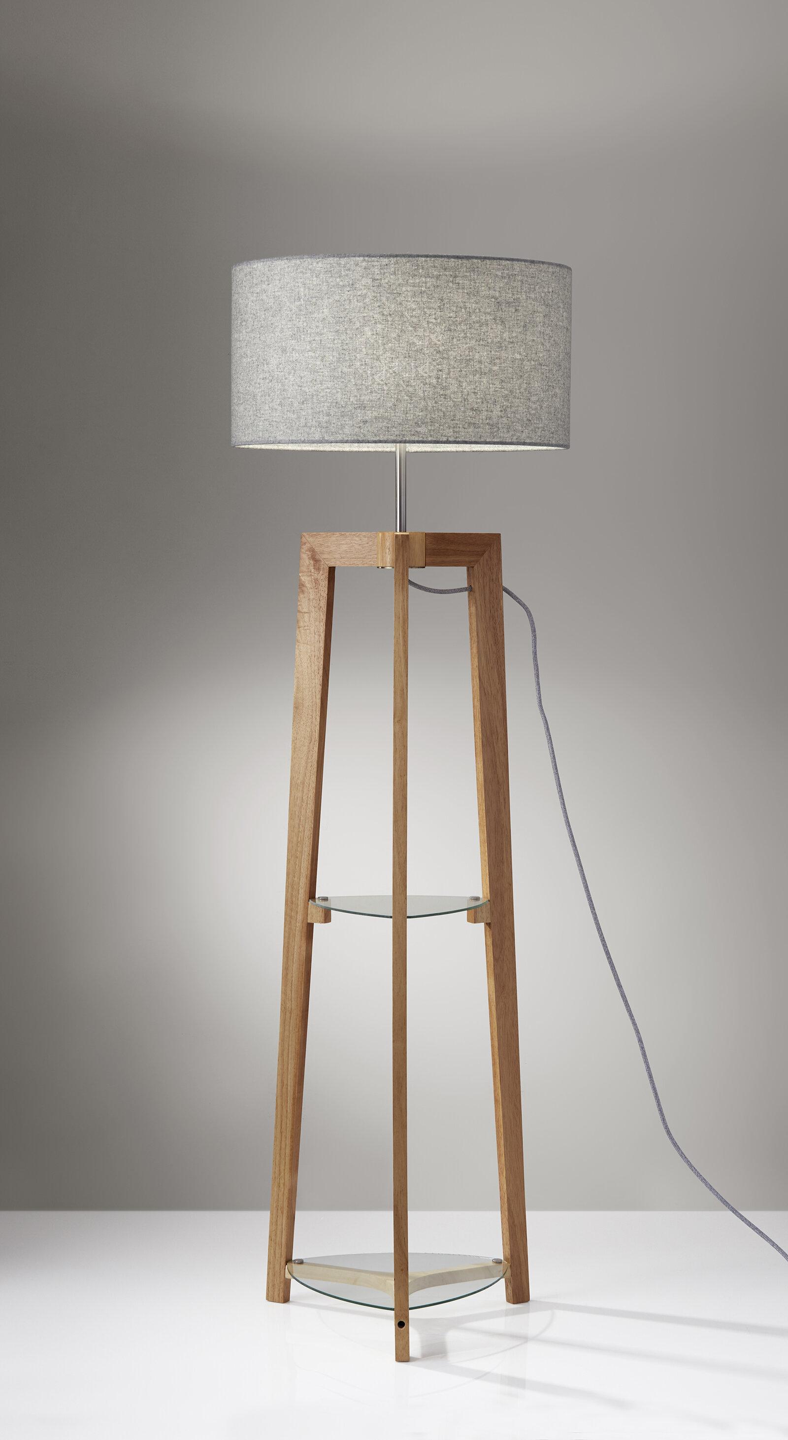 Shaffer Shelf 60 Floor Lamp