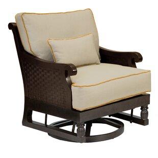 Leona Jakarta Glider/Swivel Patio Chair w..