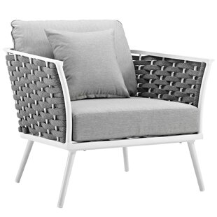 Rossville Patio Chair with Cushions
