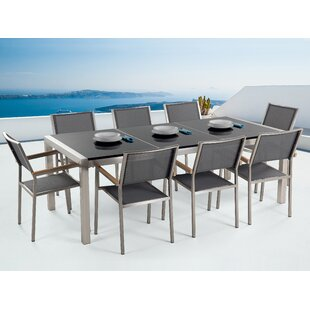 Samba 6 Seater Dining Set By Sol 72 Outdoor
