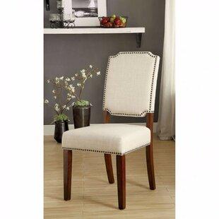 Alcott Hill Krouse Wooden Upholstered Din..