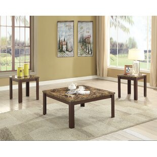 August 3 Piece Coffee Table Set