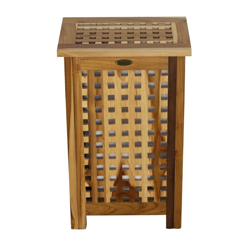 Superbe Storage Hamper Lattice Standard Solid Teak Deck Box