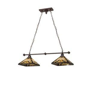 Meyda Tiffany Nuevo Mission 2-Light Pool Table Lights Pendant