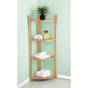 Order 26 W x 65.15 H Bathroom Shelf ByBEST LIVING INC