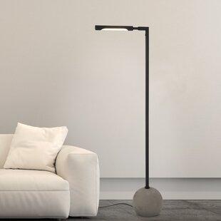 Bargain Drollette 60 LED Task Floor Lamp By Ivy Bronx