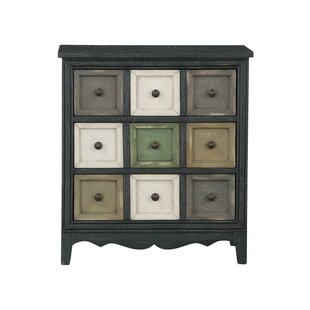 Evert 3 Drawer Accent Chest by Bloomsbury Market