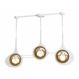 Corrigan Studio Cotta 3-Light Kitchen Isl..