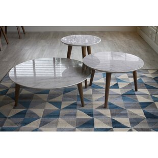 Enrique 3 Piece Coffee Table Set