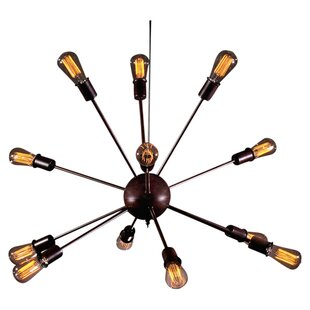 Warehouse of Tiffany Suza 12-Light Chandelier