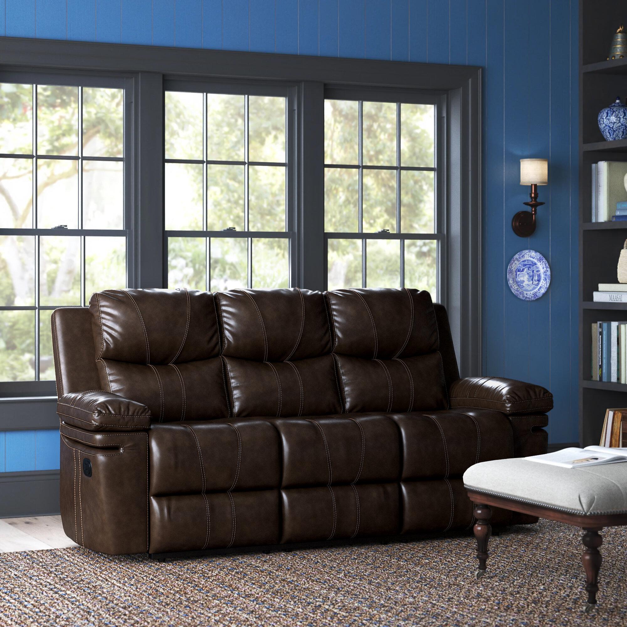 Red Barrel Studio Litchfield Reclining 80 Pillow Top Arm Sofa Reviews Wayfair