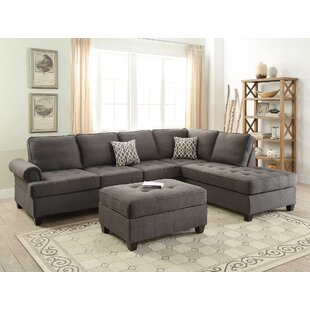 Ebern Designs Reiche Reversible Sectional