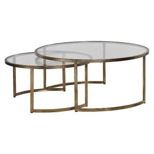 Nicklas 2 Piece Coffee Table Set Brayden Studio