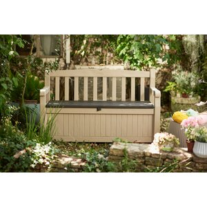 Eden All Weather Resin Storage Bench