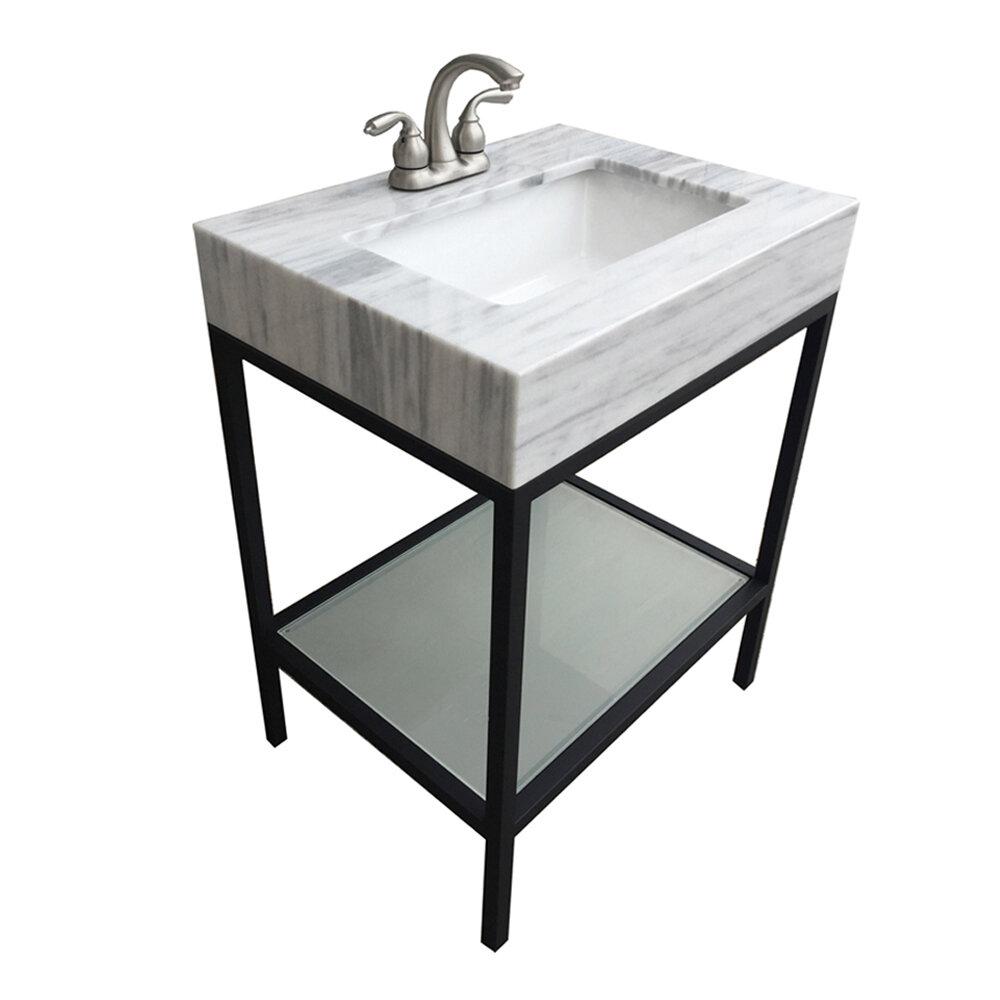 Ebern Designs Dilsey 25 Single Bathroom Vanity Set Wayfair