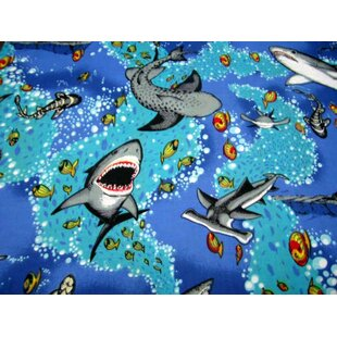Sea Life Fitted Bassinet Sheet By Sheetworld