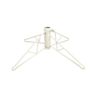 115 white artificial christmas tree with stand - Plastic Christmas Tree Stand
