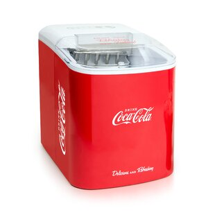 Coca-Cola 24 lb. Portable Ice Maker