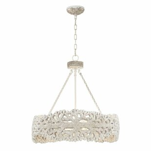 Breakwater Bay Resendez 5-Light LED Drum Chandelier