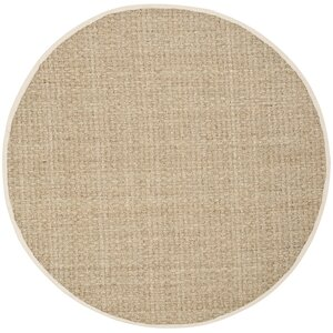 Catherine Hand-Woven Natural / Ivory Area Rug