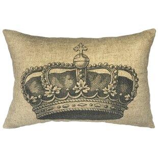 Willene Crown Linen Lumbar Pillow