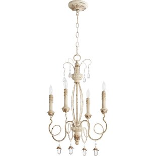 Lark Manor Baxley 4-Light Candle-Style Ch..