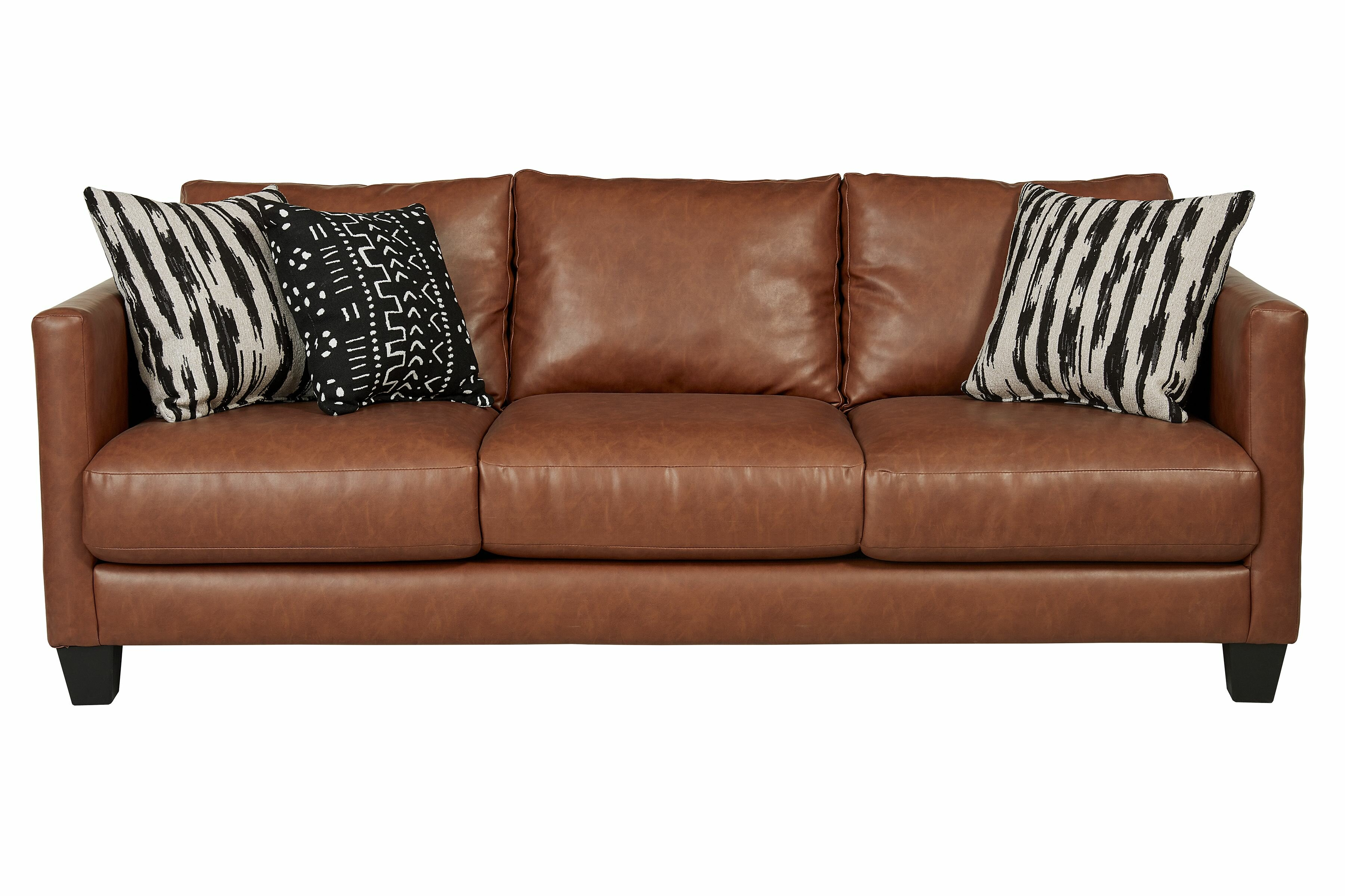 Three Posts Hubbardston 84 Square Arm Sofa Reviews Wayfair