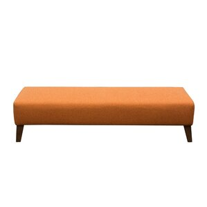 Keppel Solid Rectangular Ottoman by Diamond Sofa