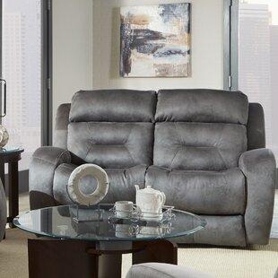 Super Buy The Red Barrel Studio Crete Leather Reclining Sofa Machost Co Dining Chair Design Ideas Machostcouk