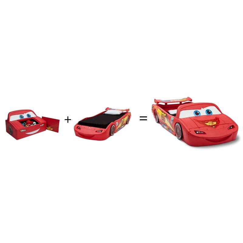 Disney Pixar Cars Lightning Mcqueen Car Bed