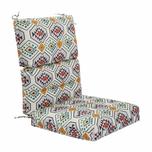 Patio High Back Chair Cushions Wayfair Ca