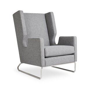 Gus* Modern Danforth Wingback Chair