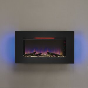 Lechez Wall Mounted Electric Fireplace