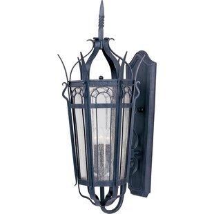 Samanda 3-Light Outdoor Sconce by Astoria Grand