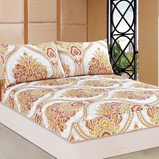Tache Home Fashion Sunshine Festival Polyester Fitted Set