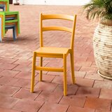 Fluellen Ladder back Stacking Side chair (Set of 2) by August Grove®