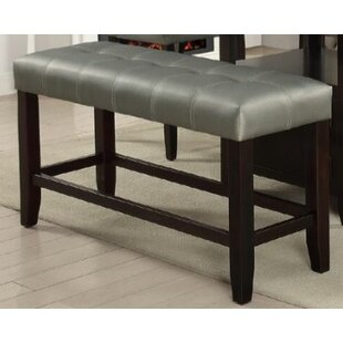 Upper Strode High Upholstered Bench by Winston Porter